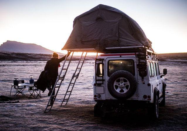 Le Lesotho, au lever du soleil