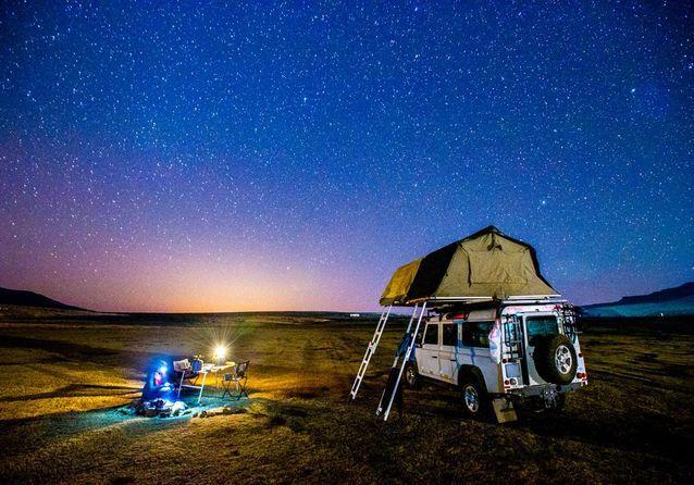 Le Lesotho, de nuit