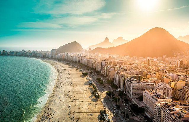 La capitale du Brésil, Rio de Janeiro ?