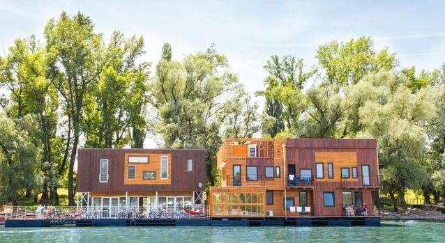 Belgrade en Serbie : l'ArkaBarka Floating Hostel