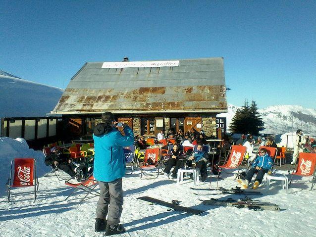 Les Sybelles - Restaurant d'altitude La Terrasse des Aiguilles