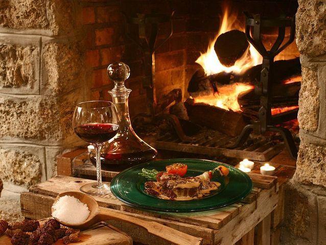Les Sybelles - Restaurant Le Cerf aux bois d'argent