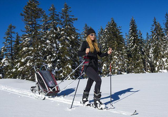L'option... vacances au ski avec bébé