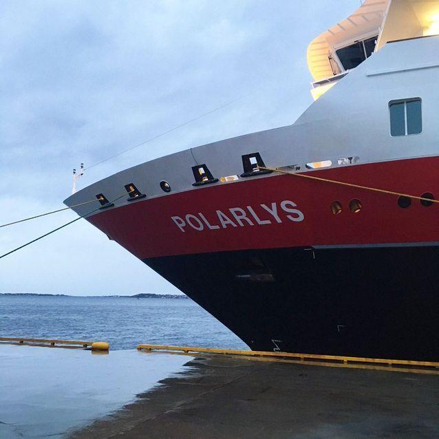 Le navire, le Polarys