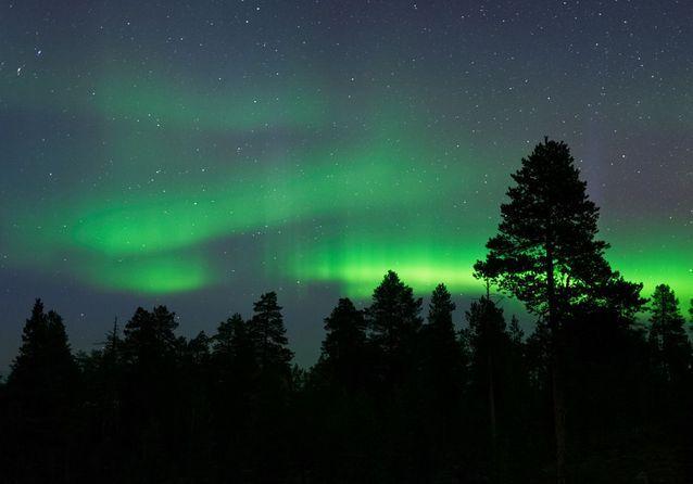 Les aurores boréales en Norvège