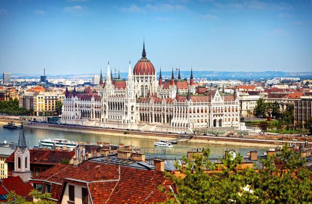 Romantic weekend in Budapest