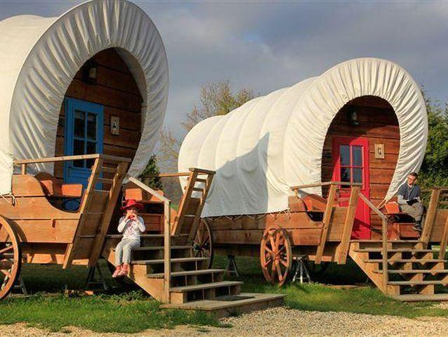 Pour jouer aux cowboys et aux indiens : Les Étangs du Moulin, Picardie
