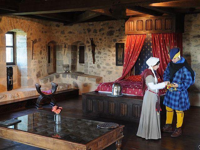 Pour vivre comme au Moyen-Age au château de Tennessus, Amailloux