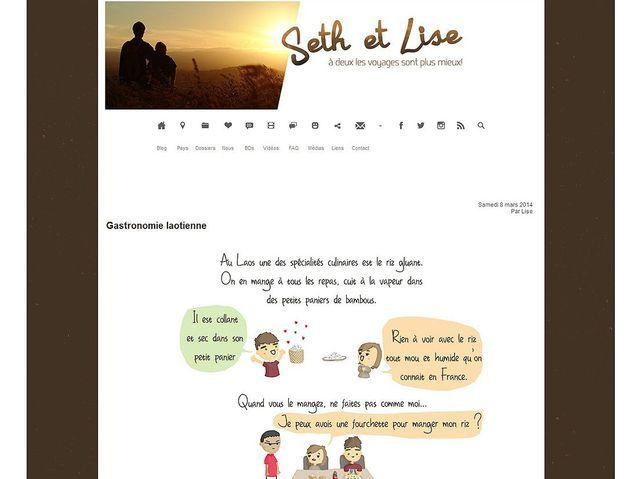 Les voyages de Seth et Lise