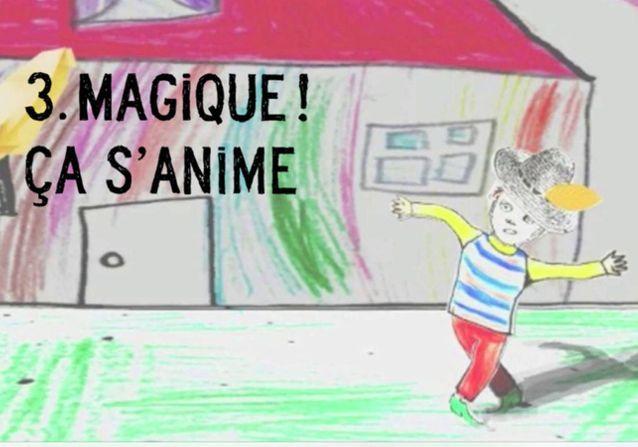 Cahier de dessin animé de Claire Fay et Pierrick Chabi