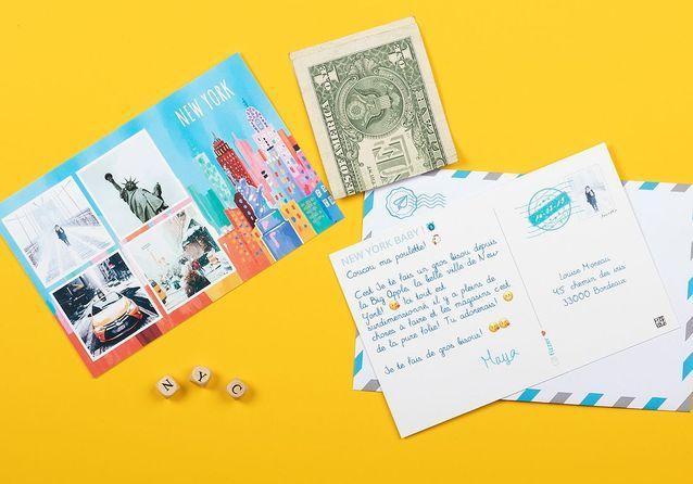 Une appli pour envoyer des cartes postales