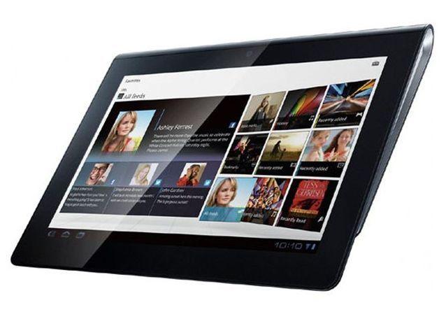 La Sony tablet