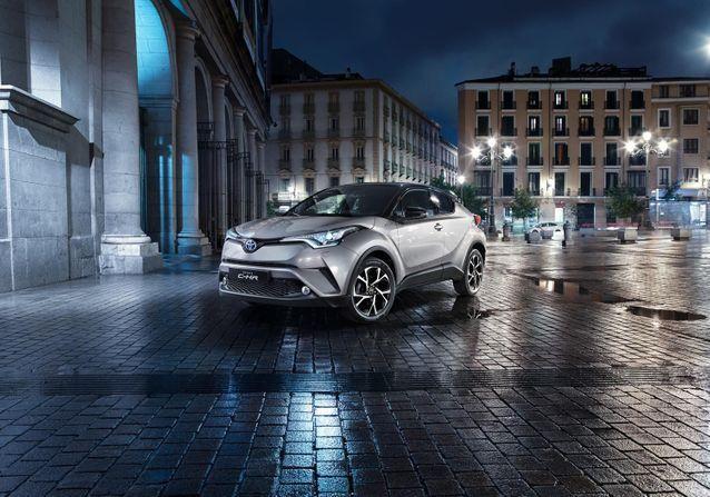 Découvrez en exclusivité les photos du nouveau Crossover de Toyota