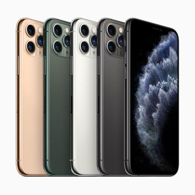 L'iPhone 11 Pro avec ses trois capteurs