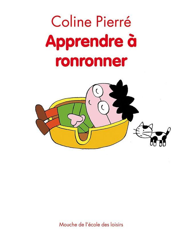 « Apprendre à ronronner » de Coline Pierré : dès 7 ans