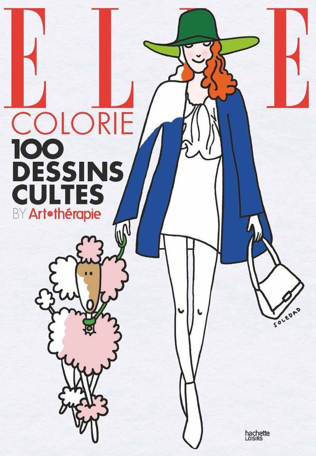 Coloriage Anti Stress Magazine.Elle Colorie 100 Coloriages Antistress Par Soledad Bravi