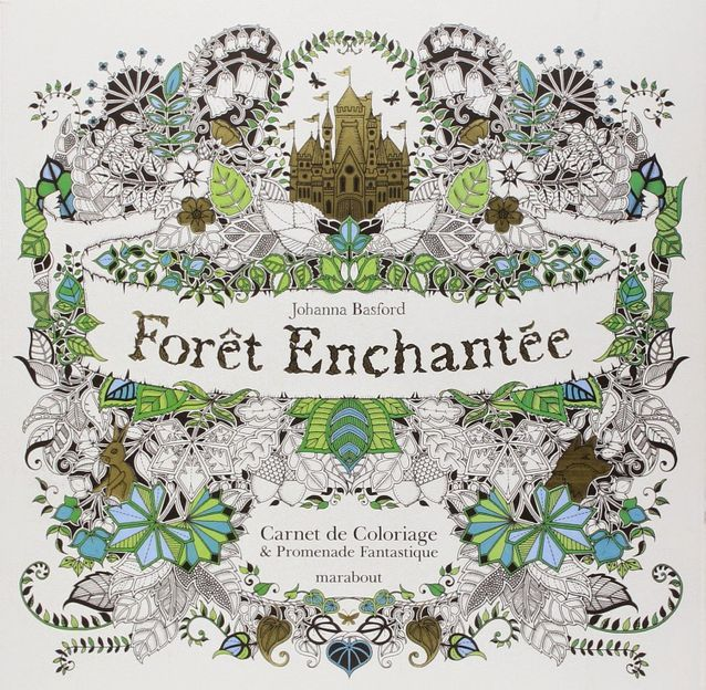 « Forêt enchantée » par Johanna Basford