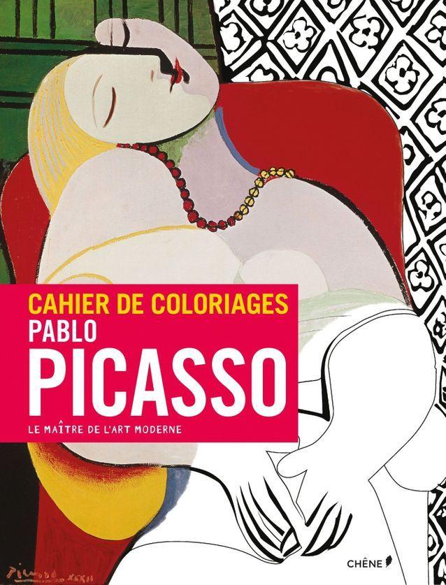 « Pablo Picasso – cahier de coloriages »