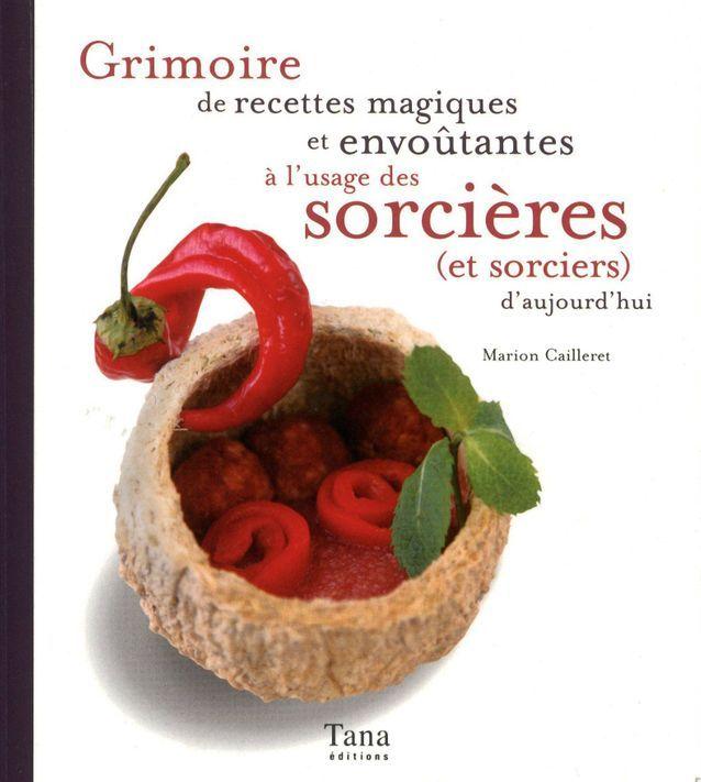 « Grimoire de recettes magiques et envoûtantes à l'usage des sorcières et sorciers », de Marion Cailleret (Tana)