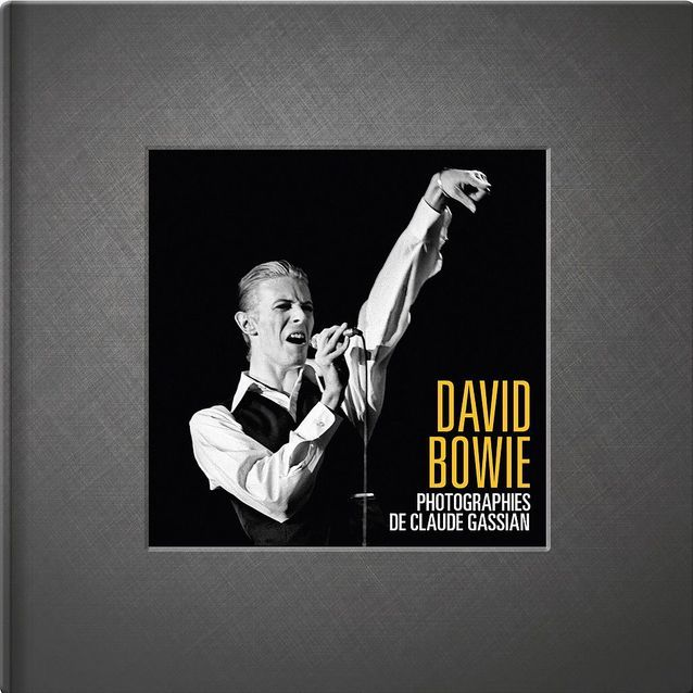 « David Bowie. Photographies de Claude Gassian » (Fnac)