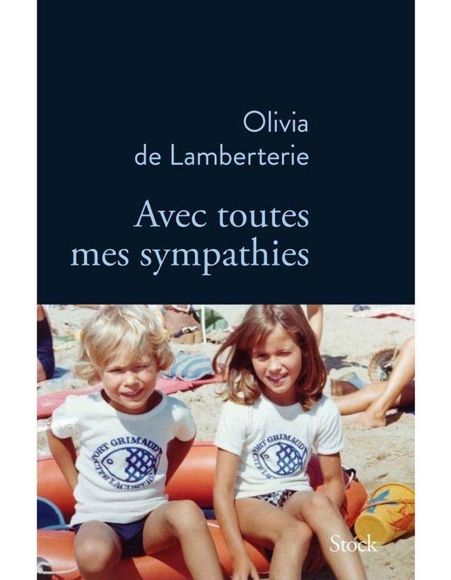 «Avec toutes mes sympathies » d'Olivia de Lamberterie