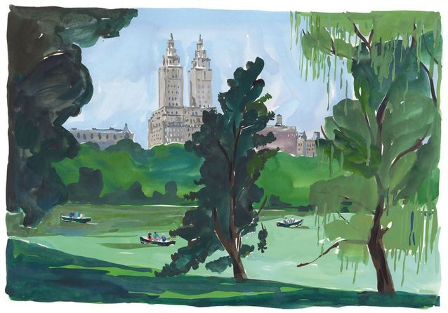 Travel Book Vuitton P 52 New York, Central Park