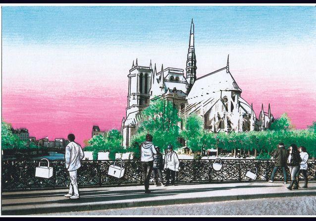 Travel Book Vuitton P114 Paris, Pont Des Arts