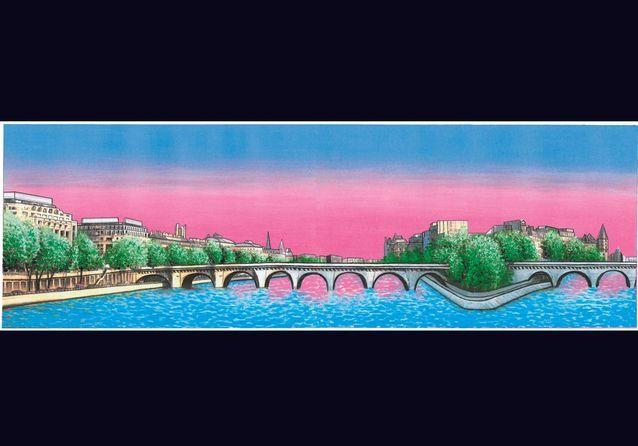 Travel Book Vuitton P120 Paris, Pont Neuf