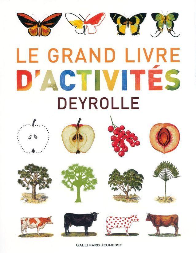 Le Grand Livre D Activites De Deyrolle Gallimard