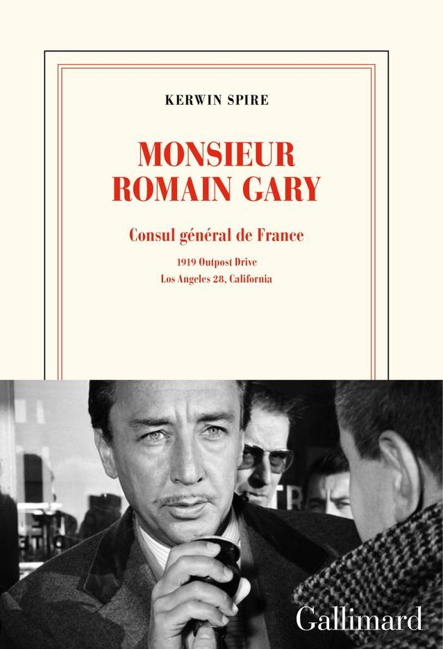 « Monsieur Romain Gary », de Kerwin Spire (Gallimard)