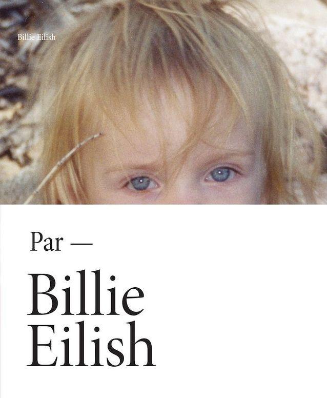 La couverture du livre de Billie Eilish