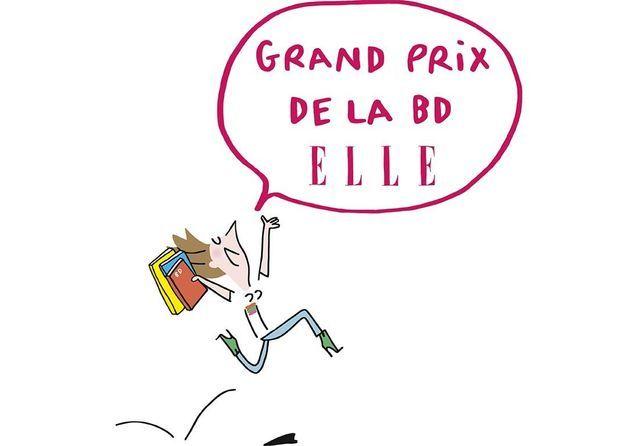 Grand Prix de la BD ELLE : découvrez les albums en compétition