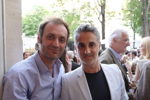 Augustin Trapenard (France Inter) et Edouard Dutour (ELLE)
