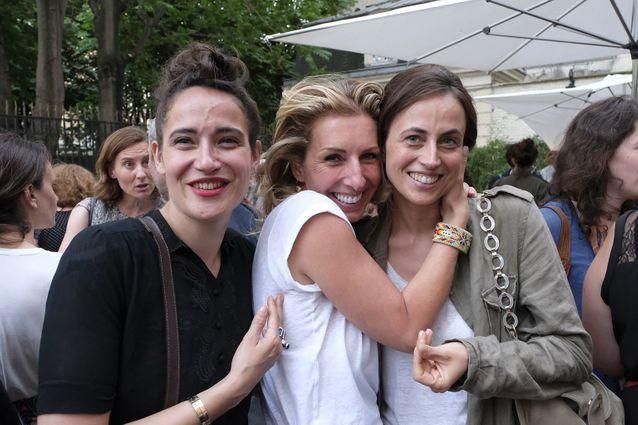 Claire Berest, Gaël  Tchakaloff et Anne Berest