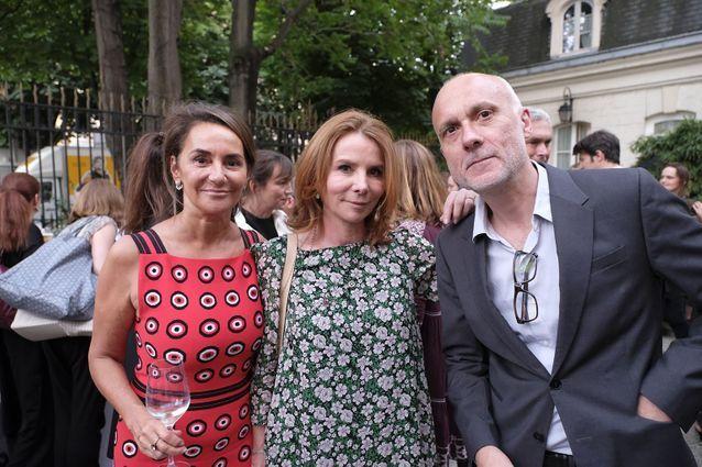 Constance Benqué, Alix Girod de l'Ain et Patrick Williams (ELLE)