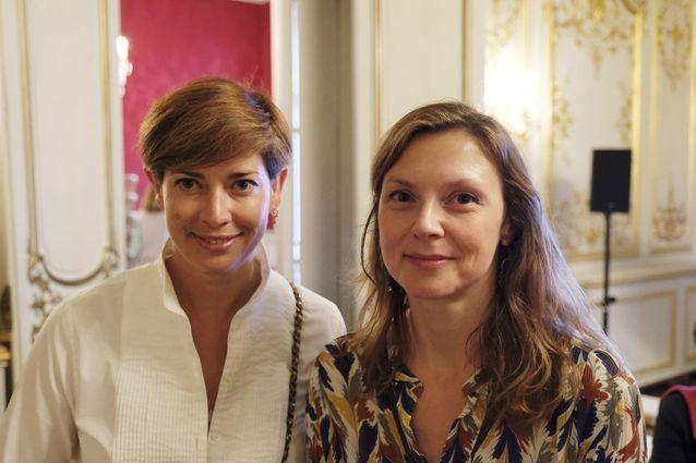 Danièle Gerkens et Marguerite Baux (ELLE)