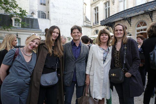 Helena Villovitch (ELLE), Nathalie Dolivo (ELLE), Philippe et Elisabeth Tretiack , Catherine Robin (ELLE)