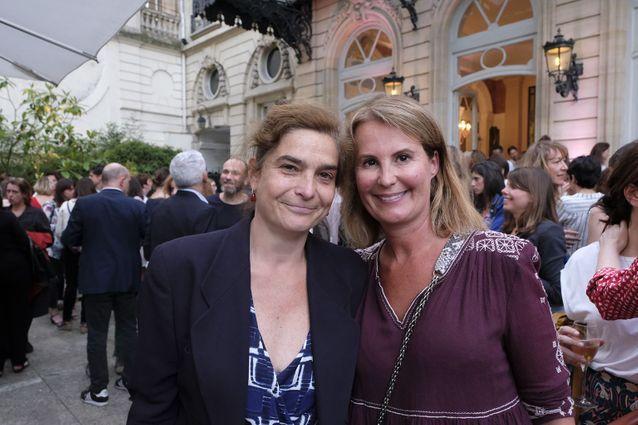 Héloise d'Ormesson et Stéphanie Videau-Aphatie