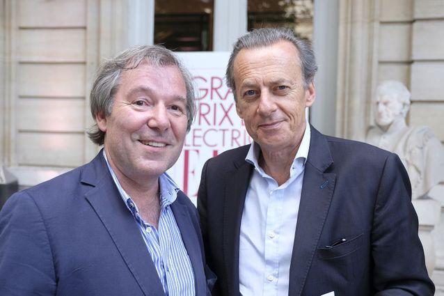 Jérôme Garcin et Olivier Nora