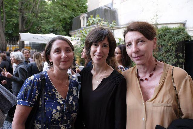 Juliette Joste (Grasset), Florence Colombani et Helene Szuszkin (Grasset)