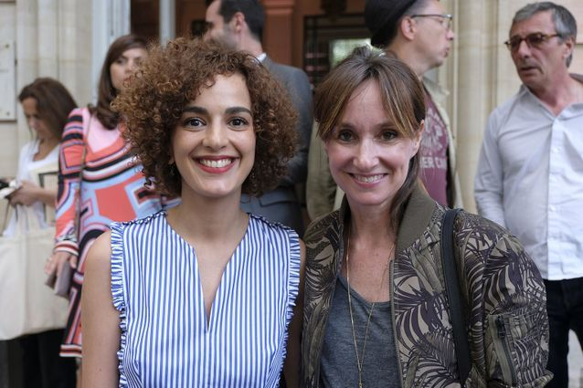 Leïla Slimani et Erin Doherty (ELLE)