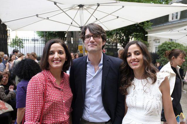 Les sœurs et l'époux de Leïla Slimani