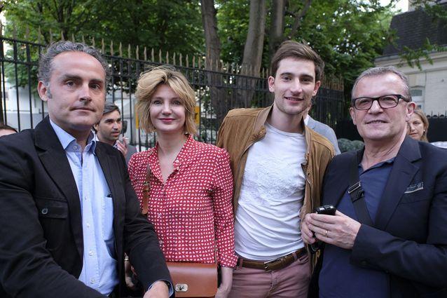 Ludovic Escande (Gallimard), Monica Sabolo, François-Henri Deserable