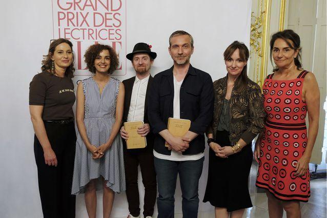 Nos lauréats encadrés par et Olivia de Lamberterie, Erin Doherty et Constance Benqué (ELLE)