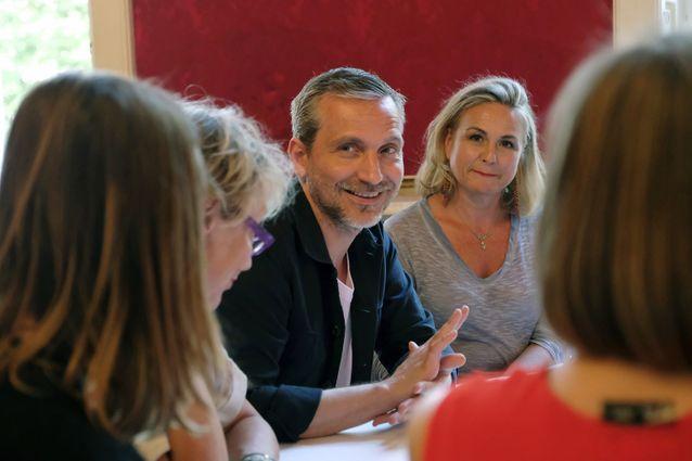 Olivier Norek et des lectrices