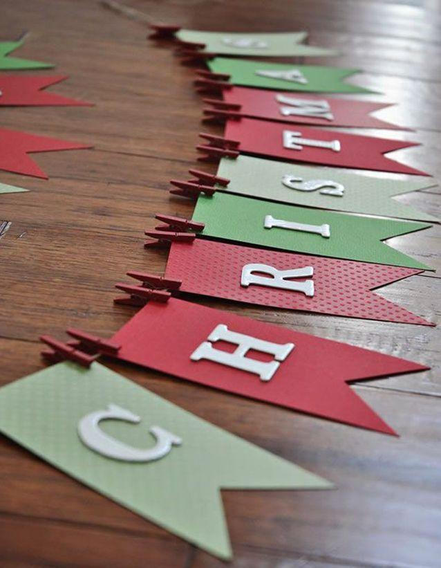 Activité manuelle Noël en papier