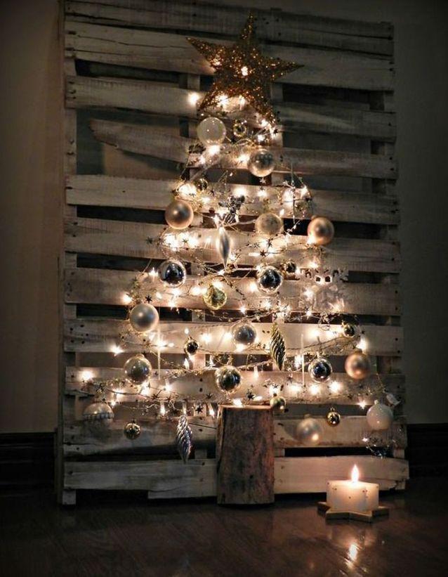 Activité manuelle Noël récupération