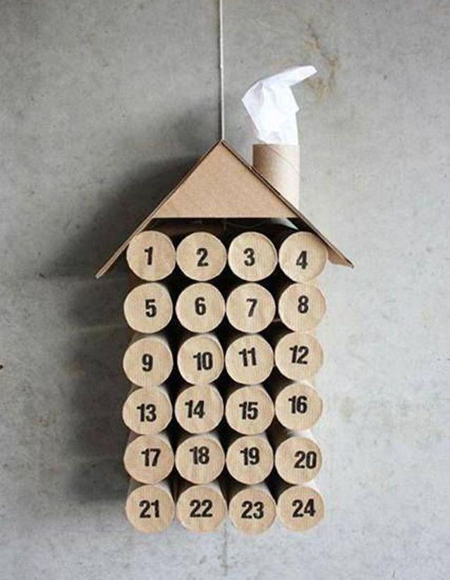 Activité manuelle Noël recyclage