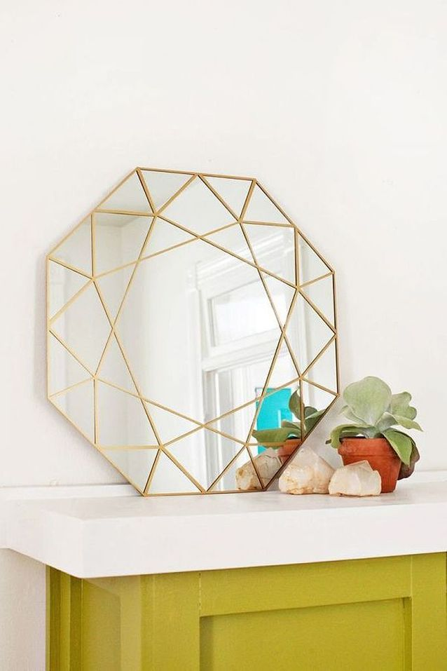Activité manuelle d'hiver miroir