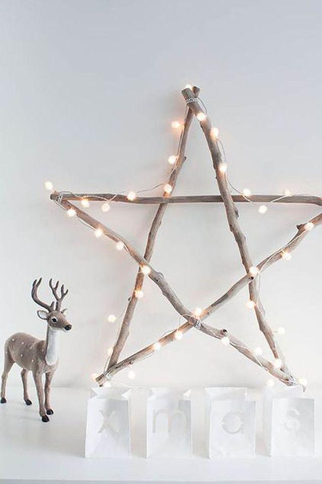Décoration de Noël DIY étoile
